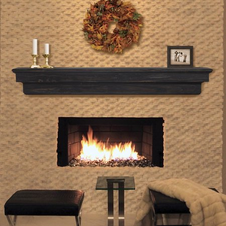 Pearl Mantels Celeste Fireplace Shelf Mantel (Mantel Decor Ideas)