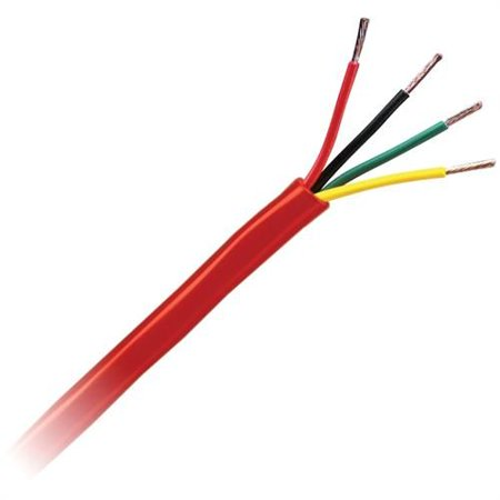Honeywell Cable 4107 55 04 18 4 Sol Jkt Fpl 5C Bx Red