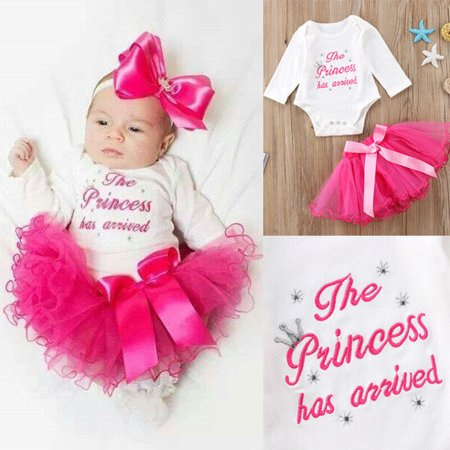 0e9c5ce8e Urkutoba - Urkutoba Baby Birthday Kid Girl Clothes Outfit Tutu Skirt Dress+Top  T-shirt 2Pc Party Set - Walmart.com