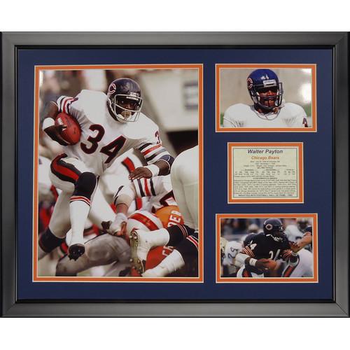 Legends Never Die NFL Chicago Bears - Walter Payton Framed Memorabili