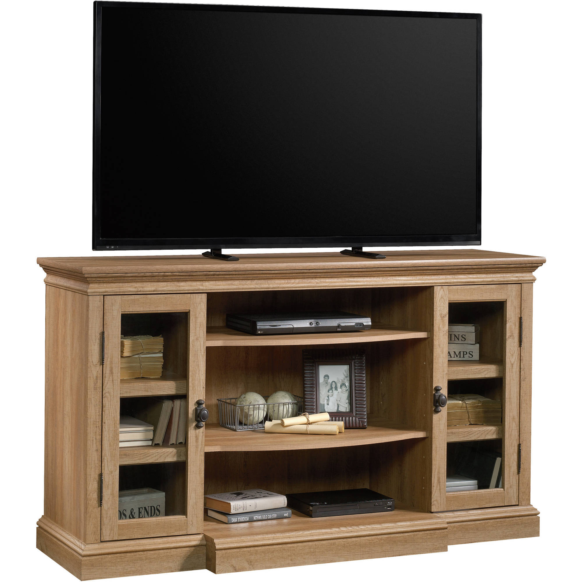 Sauder Barrister Lane Entertainment Credenza for TVs up to 60\ by Sauder Woodworking