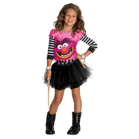 Muppets Animal Child Costume Rubies 881231, - Girl Animal Costumes
