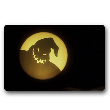 WinHome Oogie Boogie The Nightmare Before Christmas Doormat Floor Mats Rugs Outdoors/Indoor Doormat Size 23.6x15.7 inches ()