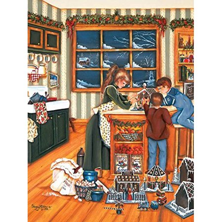- Cobble Hill Gingerbread Makers 275 Piece Gingerbread 275 Piece Jigsaw Puzzle