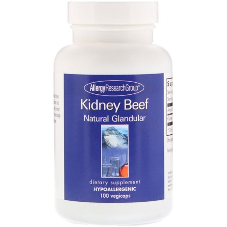 Allergy Research Group Kidney Beef, Natural Glandular, 100 Vegicaps Allergy Research Group Magnesium