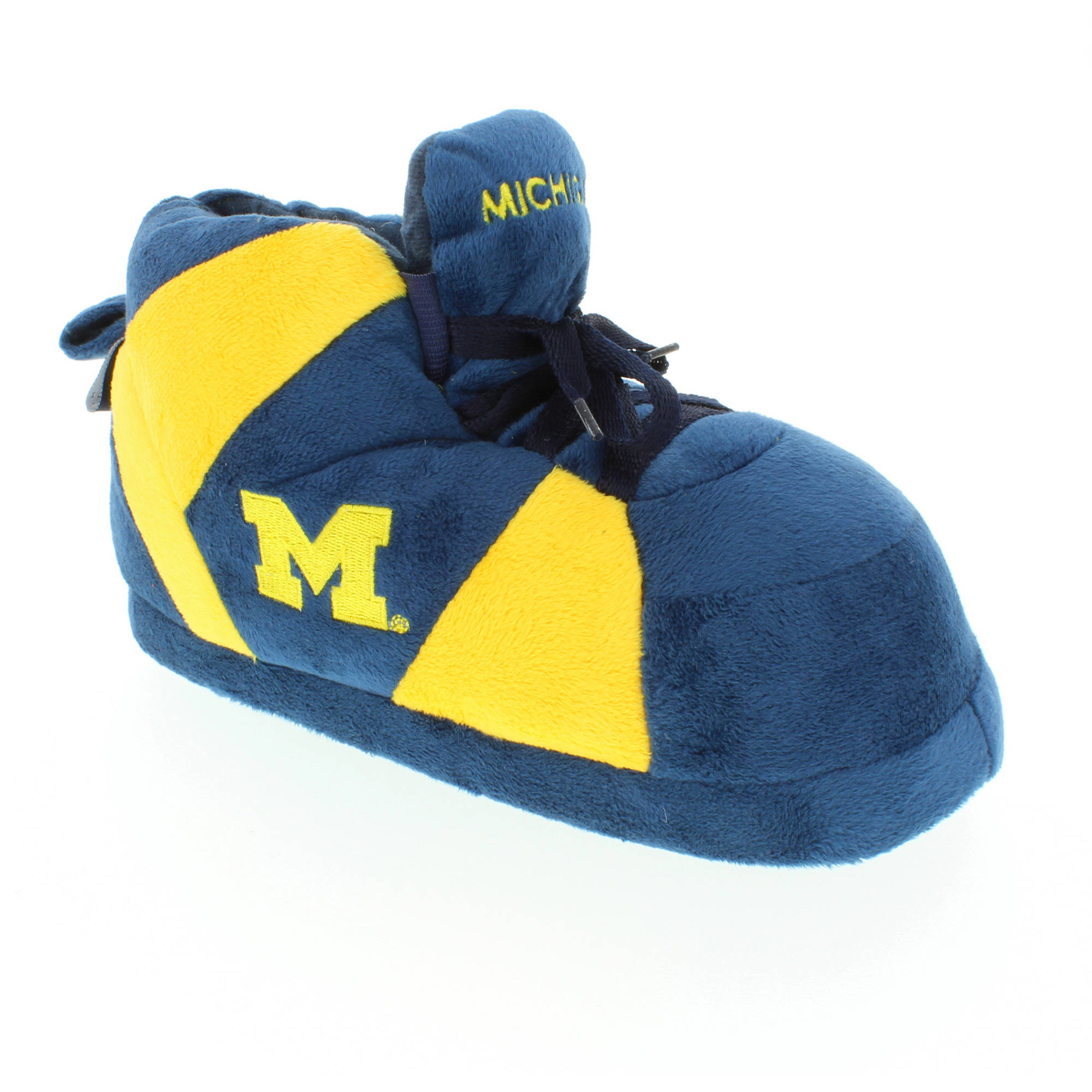 Comfy Feet - NCAA Michigan Wolverines Slipper