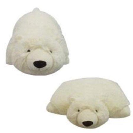 PLUSH & PLUSH® BRAND SMALL POLAR BEAR PET PILLOW, 11