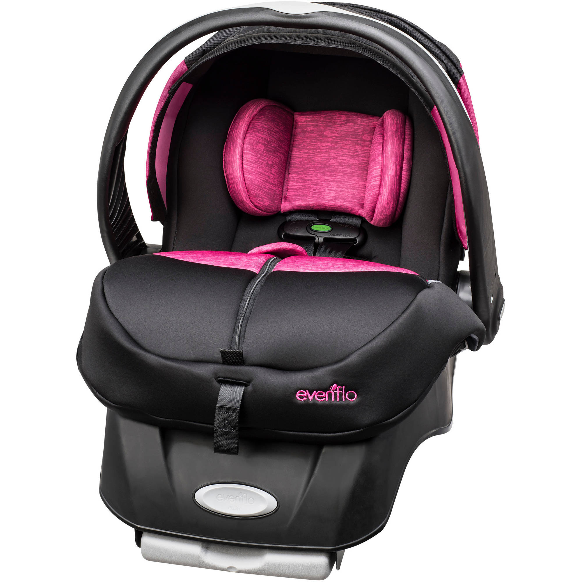 Evenflo Advanced Embrace DLX Infant Car Seat w/ SensorSafe, Choose Your Pattern