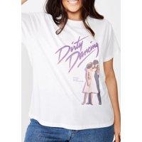 COTTON ON Curve 'Dirty Dancing' Crewneck T-Shirt