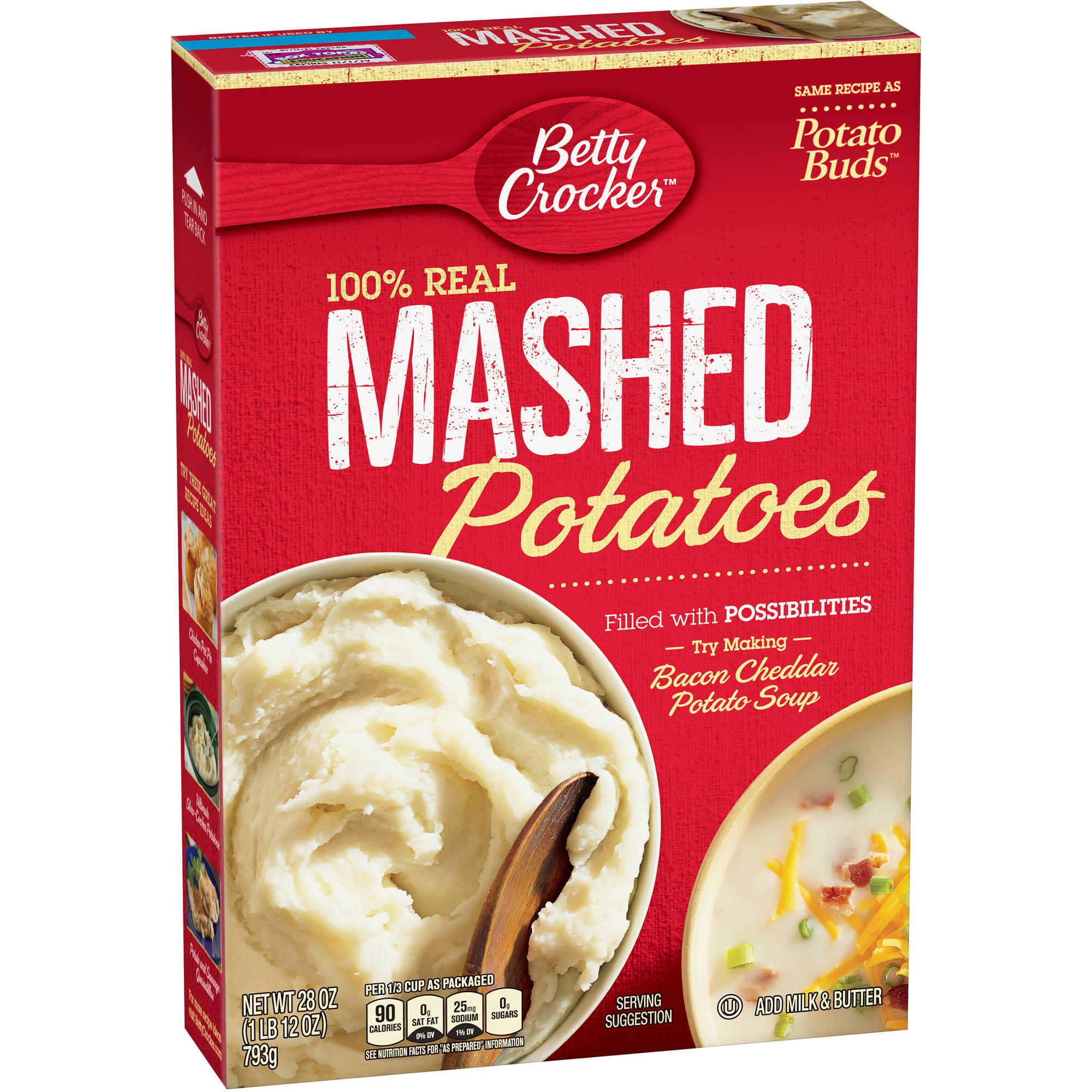 Betty Crocker? 100% Real Mashed Potatoes 28 oz. Box