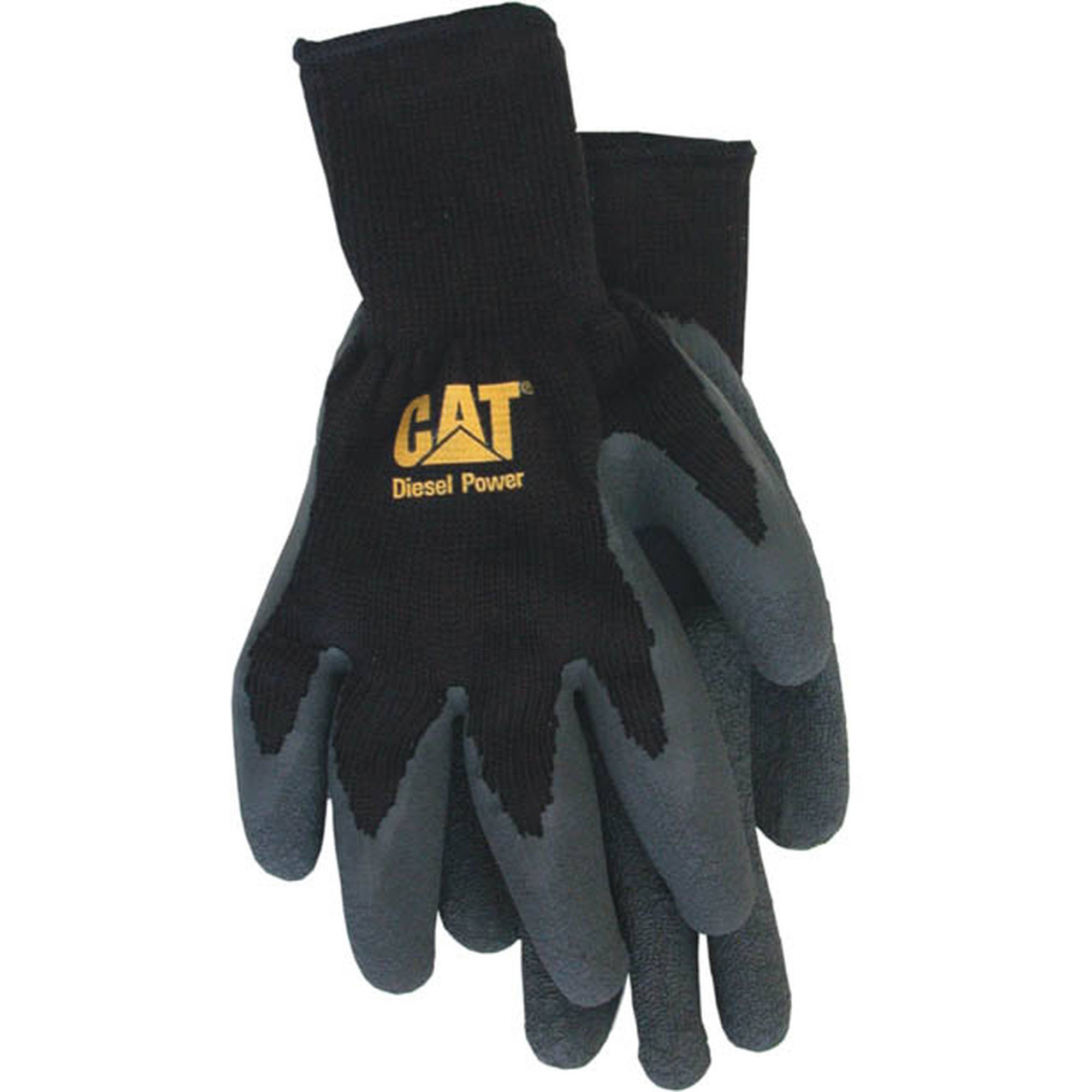 Cat Gloves CAT017400M Medium Cotton and Latex Gloves