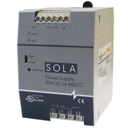 SOLA/HEVI-DUTY SDN20-24-480CC DC Power Supply