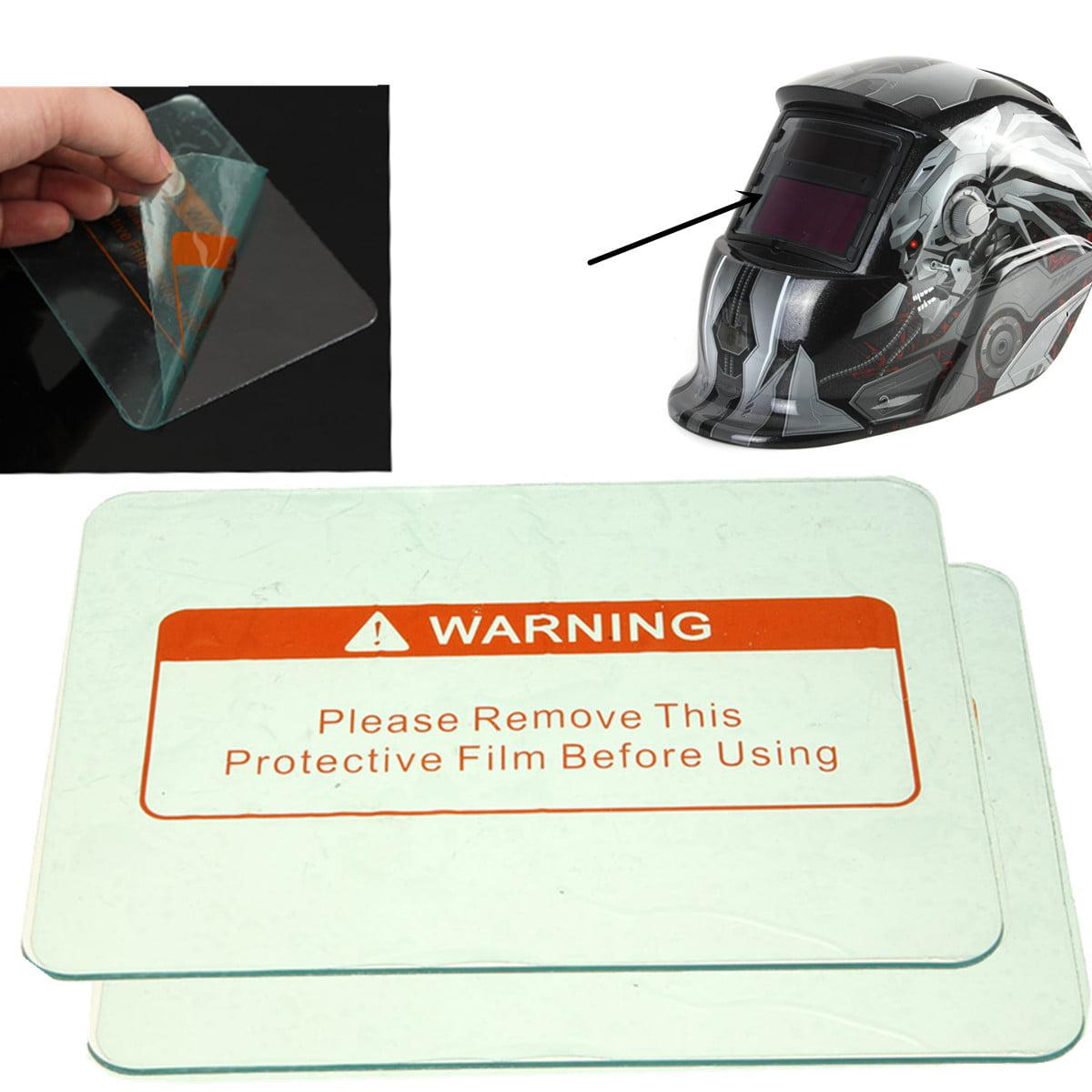 5pcs Clear Weld Welding Cover Lens ABS Lenses Helmet Mask Hood Protective Plate