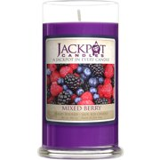 Mixed Berry Candle with Ring Inside (Surprise Jewelry Valued at $15 to $5,000) Ring Size 8