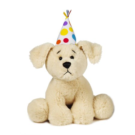 Ganz Soft Spots  Birthday Puppy Plush With Sound (Golden Retriever)