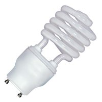 Satco 08207 - 26GU24/27 S8207 Twist Style Twist and Lock Base Compact Fluorescent Light Bulb