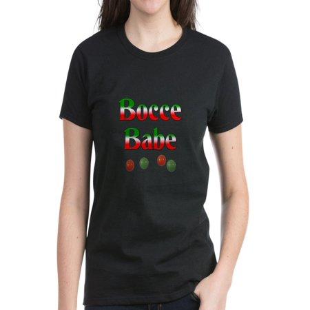 4fb831fbb CafePress - CafePress - Bocce Babe Women's Dark T Shirt - Women's ...