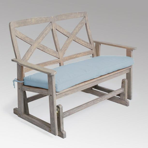 Westlake Solid Wood Outdoor Glider, Garden Glider Bench