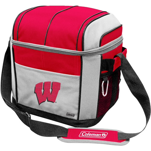 "Coleman 11"" x 9"" x 13"" 24-Can Cooler, Wisconsin Badgers"
