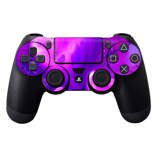 Protective Vinyl Skin Decal Cover for Sony PlayStation DualShock 4 Controller wrap sticker skins Purple Heart