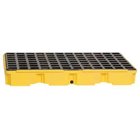 EAGLE 1632D Spill Platform,w/Drain,30 gal.,2 (Eagle 2 Drum)
