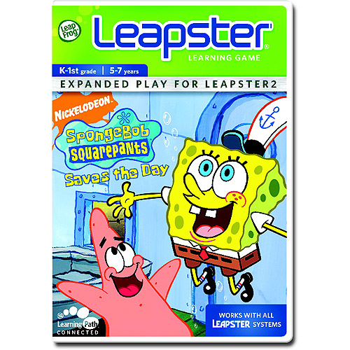 LeapFrog Leapster Learning Game: SpongeBob SquarePants Saves the Day