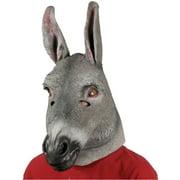Star Power Realistic Donkey Full Head Animal Mask, Grey, One Size
