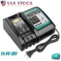 18V Makita DC18RC Replace Charger For Makita BL1830 BL1850 BL1830 Fast Charge US