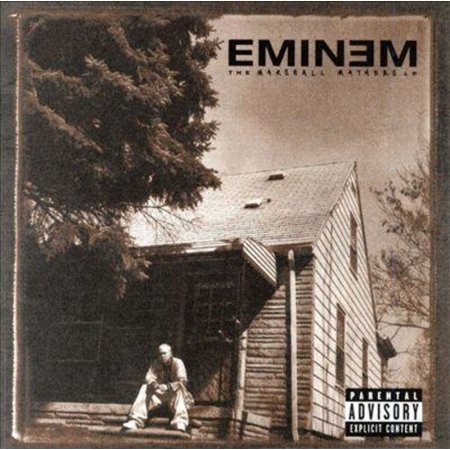 The Marshall Mathers LP (CD) (explicit)