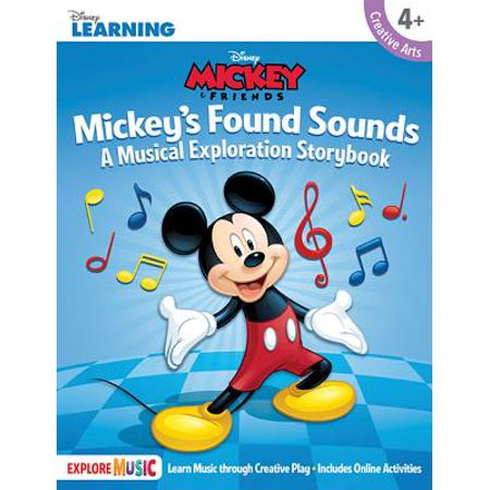 Mickey's Found Sounds: A Musical Exploration Storybook Disney Learning (Other)