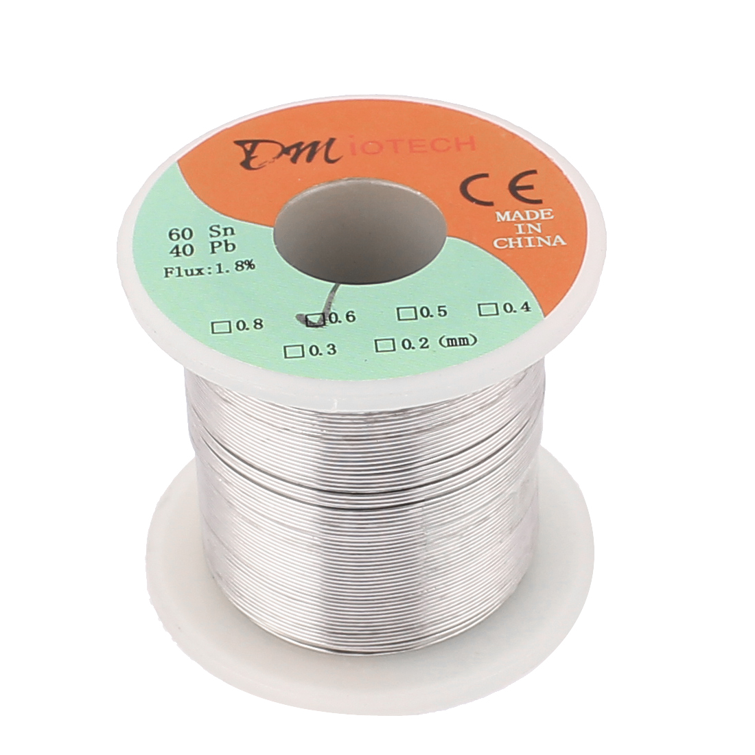DMiotech 0.6mm 200g 60/40 Tin Lead Roll Solder Soldering Wire Spool Reel - image 2 of 2