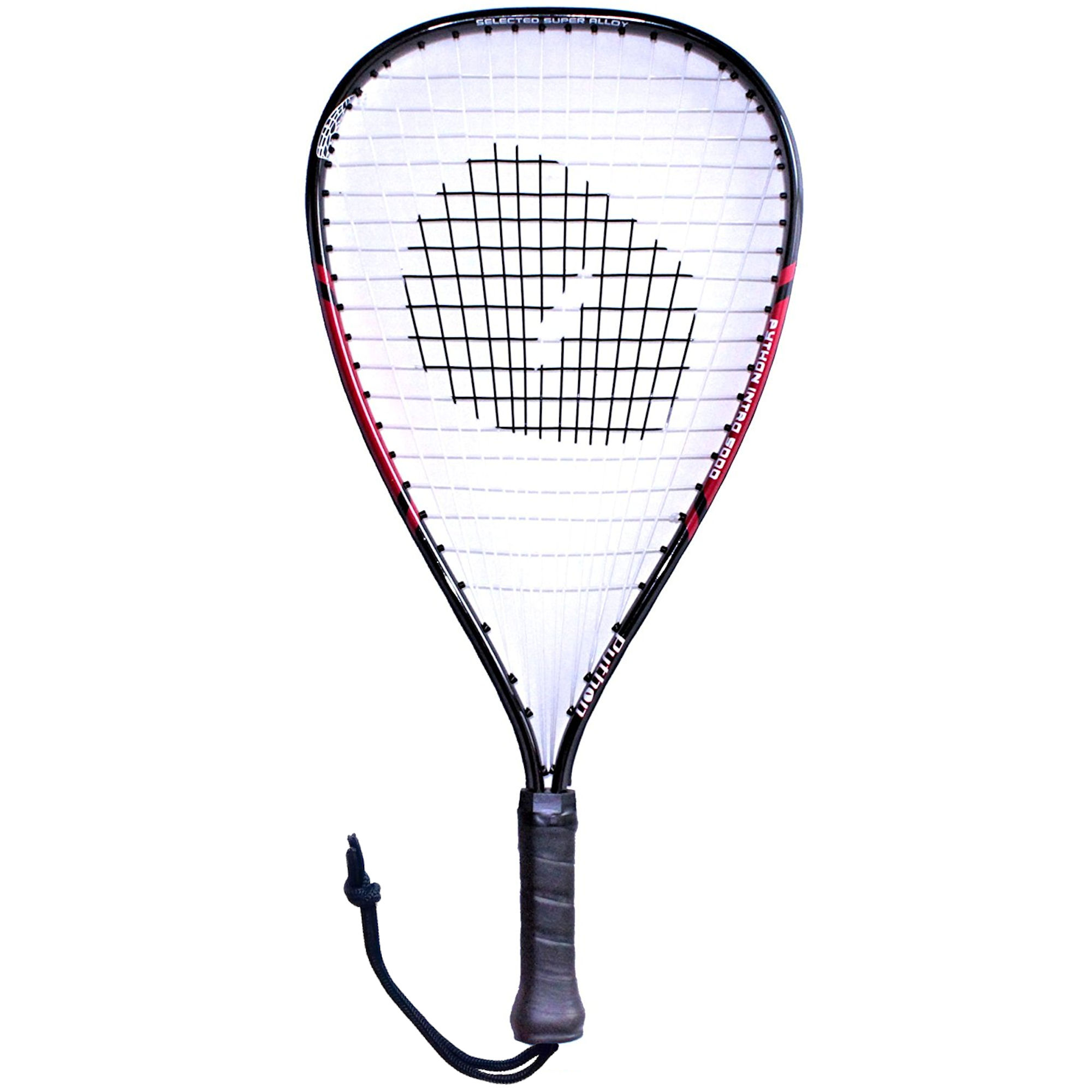 Python Intro 5000 Red Racquetball Racquet (Beginner Racket) by