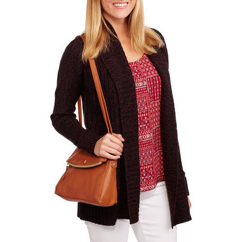 Faded Glory Women's Two Pocket Cardigan Sweater