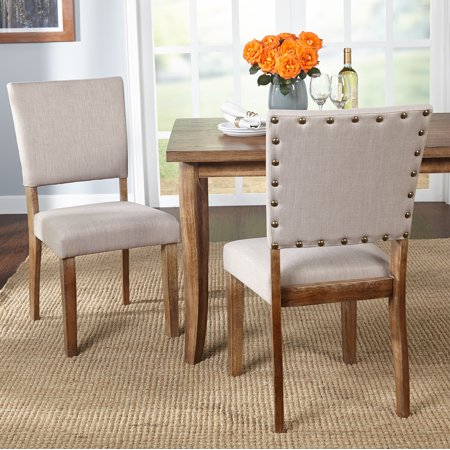 Provence Nailhead Parson Dining Chairs (Set of 2)