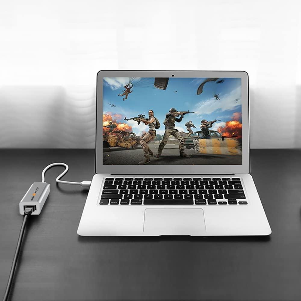 Storite~USB 2.0 to LAN RJ45 Ethernet Network Card Adapter 10//100 Mbps Laptop//PC Network USB LAN Converter Card Support winXP Linux OS Blue