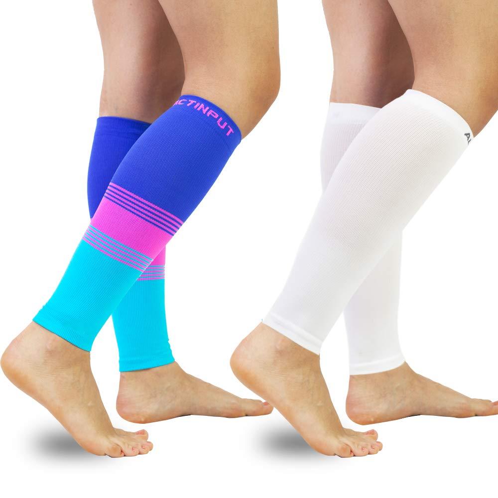 for Men /& Women Travel Nursing 20-30mmHg Leg Compression Socks for Shin Splint,Running,Medical Compression Calf Sleeves