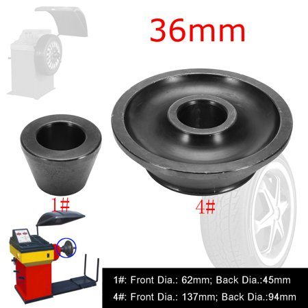 1#/4# 36mm Wheel Balancer Standard Taper Cone Inner Dia Shaft Accuturn Coat Replacement Auto Parts
