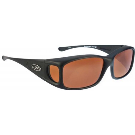 d319eb0be5 Jonathan Paul Eyewear - Jonathan Paul Fitovers Small Razor Midnight Oil  Black Polar Roadster Sunglasses - Walmart.com