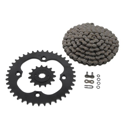- 09-10 Suzuki LTR450 LT-450 QuadRacer CZ DZO O-Ring Chain Blk Sprocket 15/40 104L