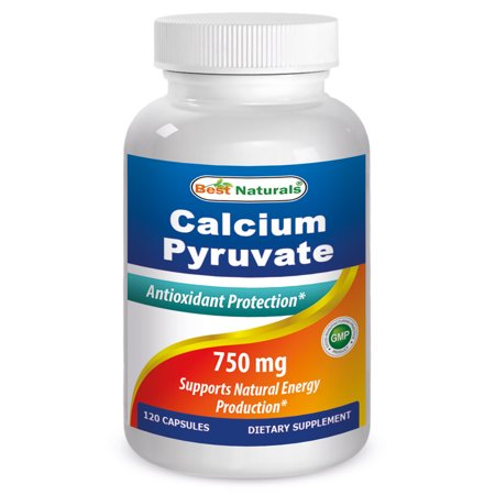 Best Naturals Calcium Pyruvate 750 mg 120