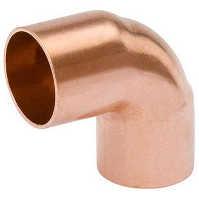 Mueller Industries W 61617 .38 in. Wrot Copper 90 Degree Elbow - image 1 of 1