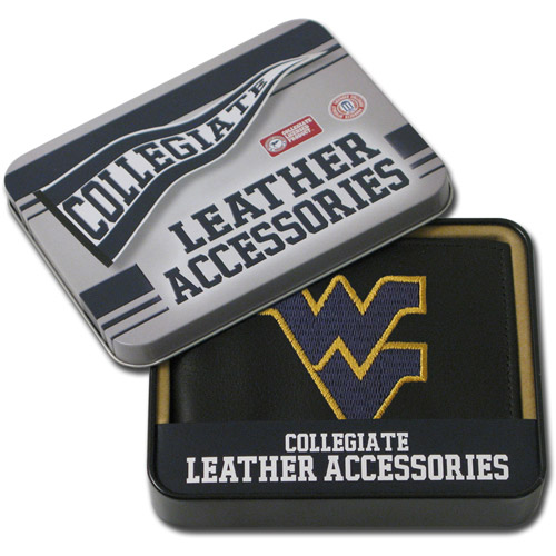 NCAA - Men's West Virginia Mountaineers Embroidered Billfold Wallet