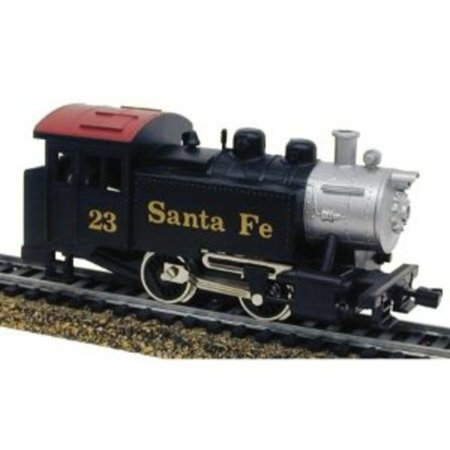 Model Power 96500 0-4-0 Loco Santa Fe HO Multi-Colored