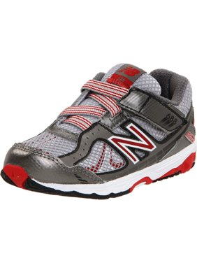 New Balance 688 H&L Sneaker (Infant/Toddler) Shoes Titanium Red