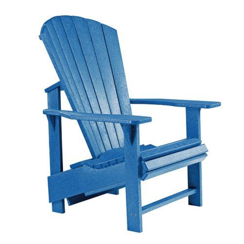 CR Plastic Products Generations Upright Adirondack Chair