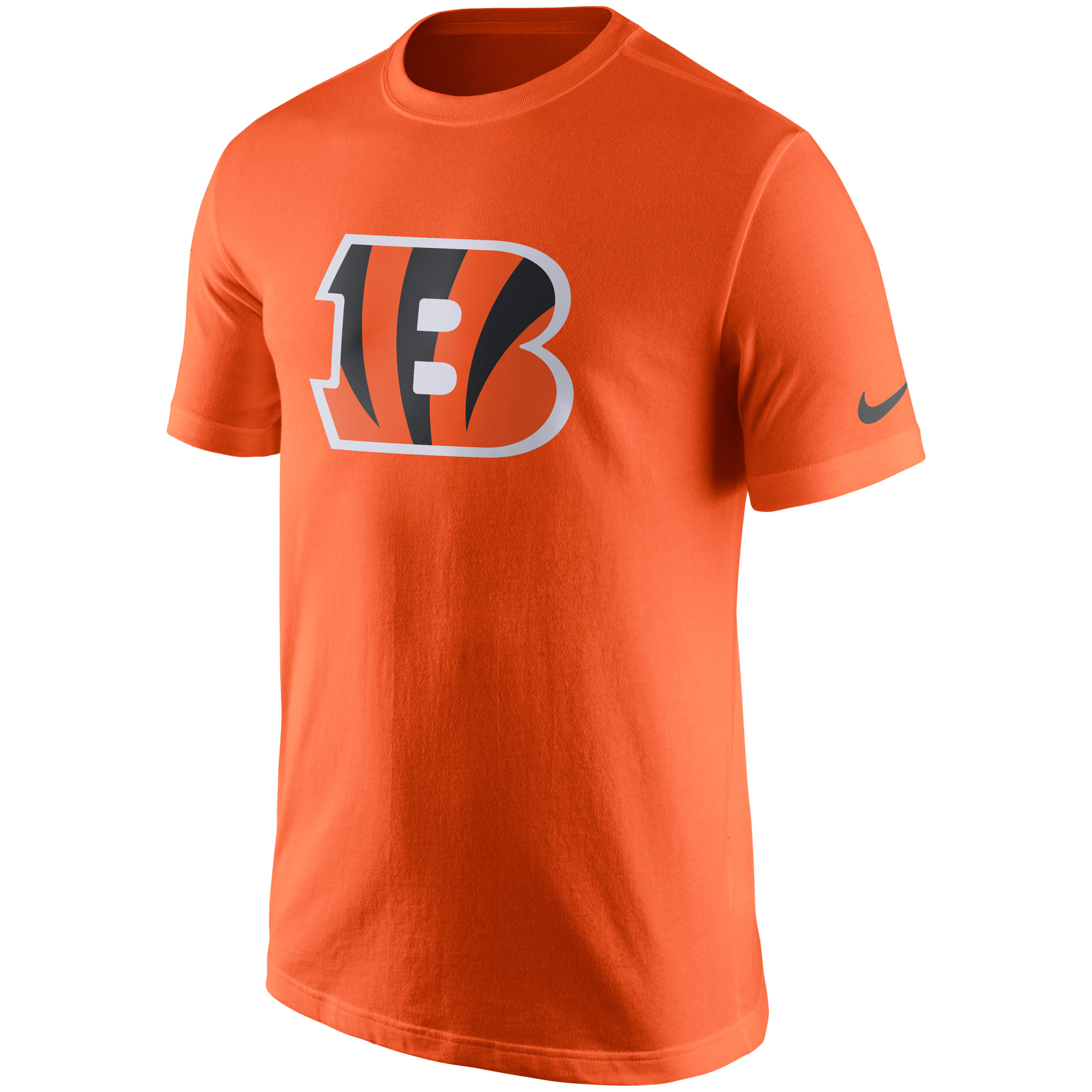 Cincinnati Bengals Nike Essential Logo T-Shirt - Orange