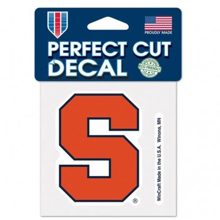 Syracuse Orange Decal 4x4 Perfect Cut Color - image 1 of 1