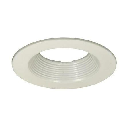 4 Step Baffle Trim (Jesco Lighting RLT-R4002-WH-WH 4 in. Step Baffle Trim,)