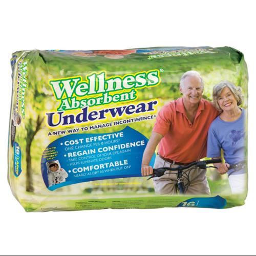 EasyComforts XL  Wellness Absorbent Underwear, pkg.
