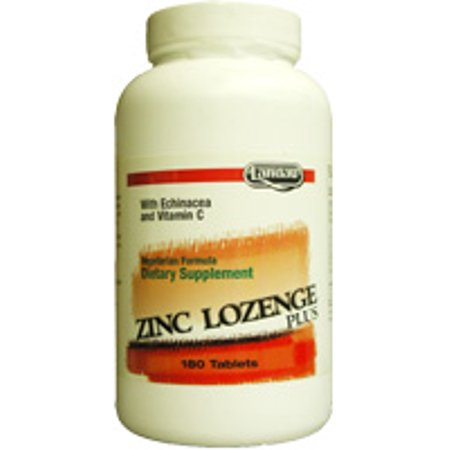 180 Lozenges - Landau Kosher Zinc Lozenge Plus with Echinacea and Vitamin C Orange Flavor NEW & IMPROVED - 180 Tablets